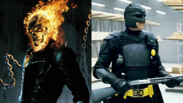 Nicolas Cage As Ghost Rider And Big Daddy