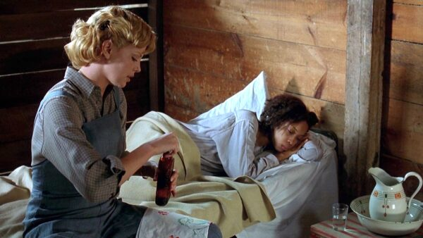 Charlize Theron in The Cider House Rules 1999 Movie