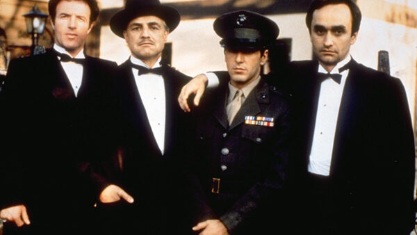Marlon Brando Al Pacino James Caan Robert Duvall as Corleone Crime Family