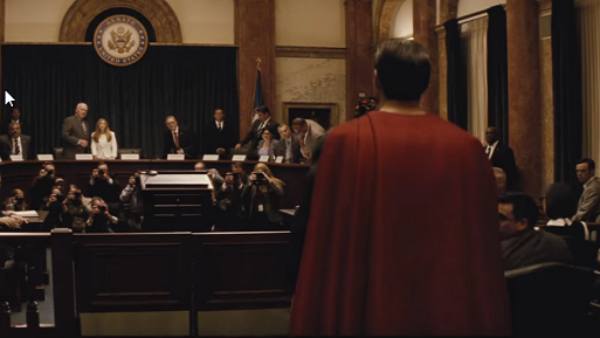What is the Court Scene All About In Batman Vs Superman