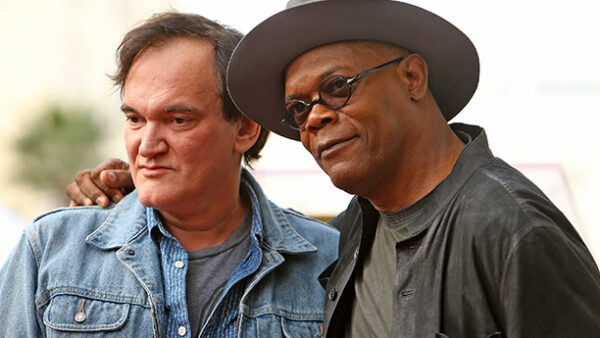 Samuel L. Jackson and Quentin Tarantino Director Actor Partnership