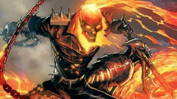 Ghost Rider in The Ultimate Avengers Marvel Anti Heroes