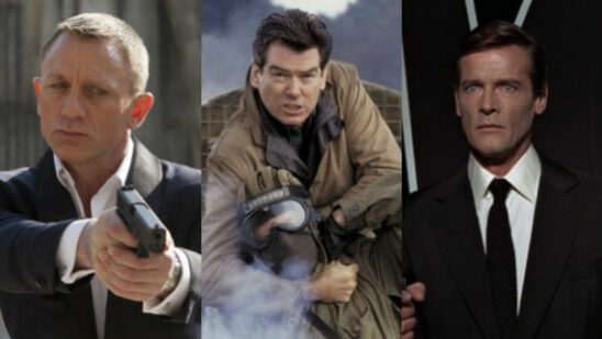 The Best And Worst James Bond Movies Of All Time