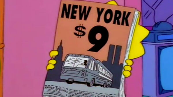 9 11 predictions in cartoons The Simpsons
