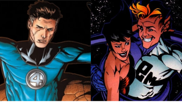 Mr Fantastic VS Elongated Man