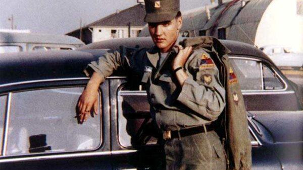 Elvis Presley Singer Served in Army