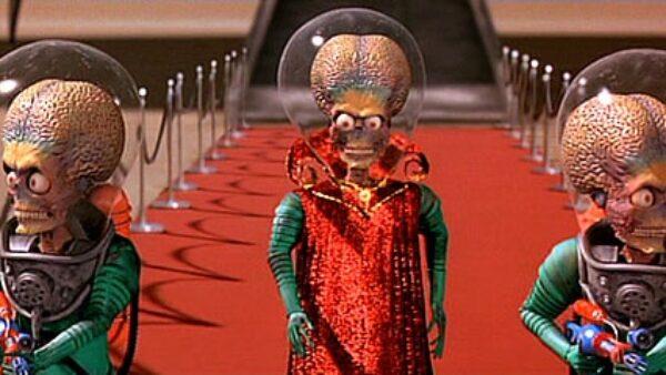 Mars Attack 1996 Movie