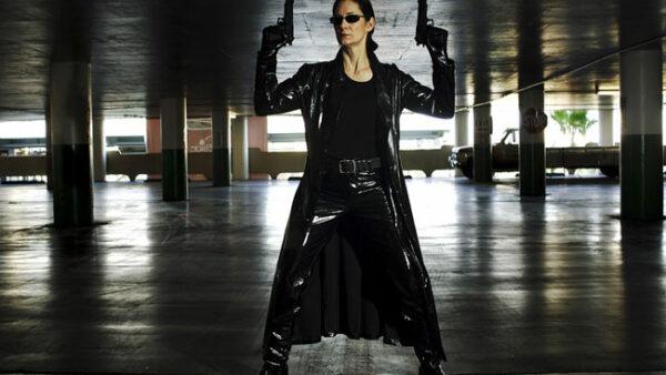 Trinity female action hero