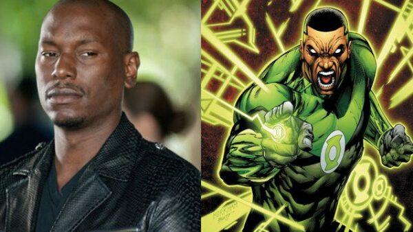 Tyrese Gibson Green Lantern
