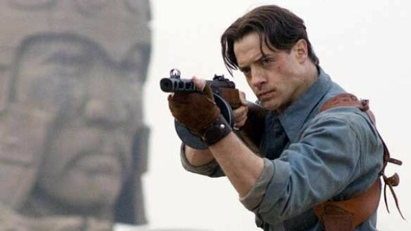 Brendan Fraser as Rick O Connell in The Mummy Trilogy