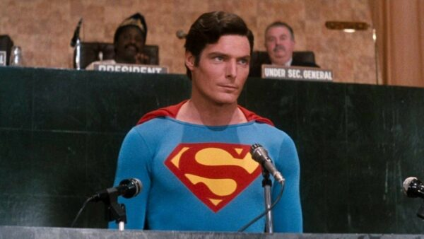 Christopher Reeve in And as Super-man