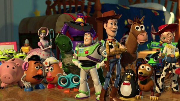 Toy Story Animated Movie Trilogy