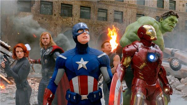 Chris Evans Film The Avengers 2012