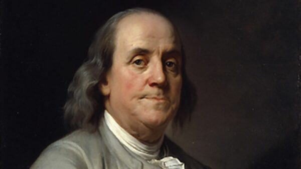 Founding Father Of The United States Benjamin Franklin
