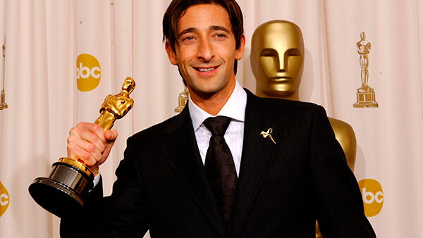 Adrian Brody Wins Oscar