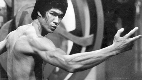 bruce lee kick power
