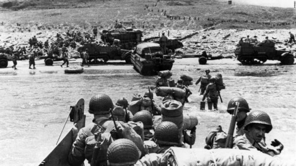 German military was completely crushed on D-Day