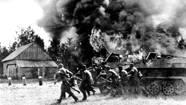 German troops attacked the Soviet Union because the Soviets wanted to invade Germany