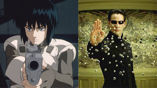 matrix copied ghost in the shell