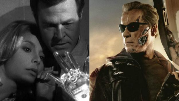 the terminator and the outer limits