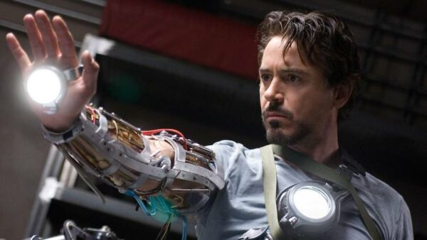 Robert Downey Jr in Iron Man 2008