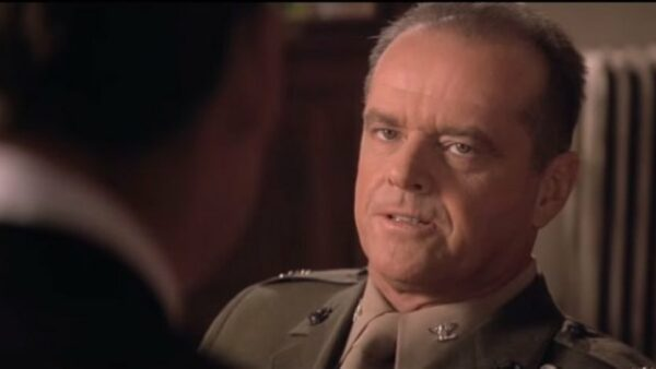 Jack Nicholson in A Few Good Men 1992
