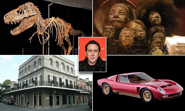 15 Most Expensive Things Bought by Nicolas Cage