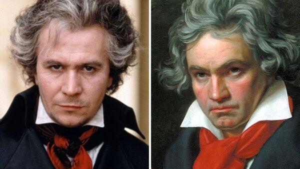 Gary Oldman As Ludwig van Beethoven