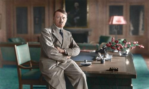 Adolf Hitler colored