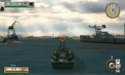 Battlestations: Midway naval tactical combat game