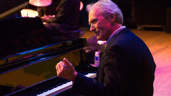 Clint Eastwood Playing Piano