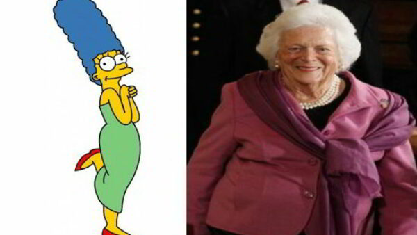 First Lady Barbara Bush Received a Real Letter from Marge Simpson