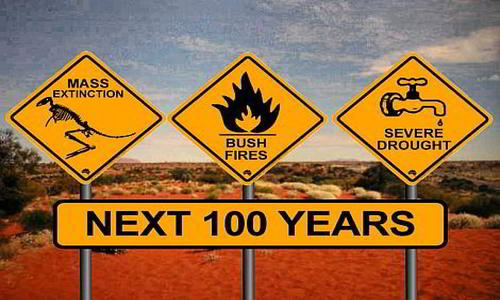 global climate change and the end of the world