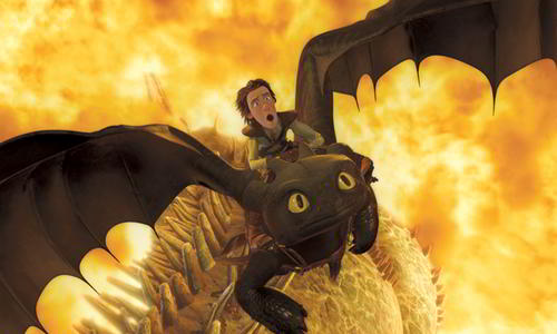 How to Train Your Dragon creature