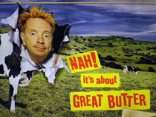 Johnny Rotten Country Life Butter