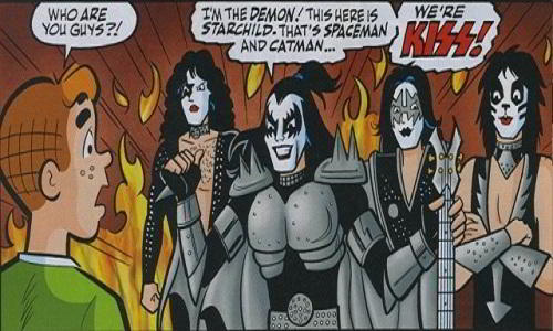 KISS Rocks With Archie