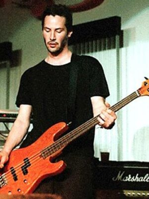 Keanu Reeves Can Play Bass Guitar