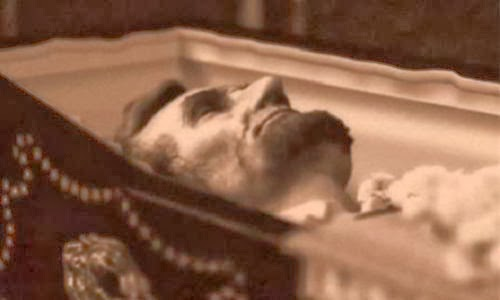 Lincoln dreamt his funeral