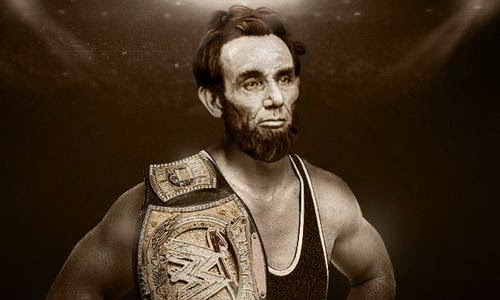Abraham Lincoln in the National Wrestling Hall of Fame