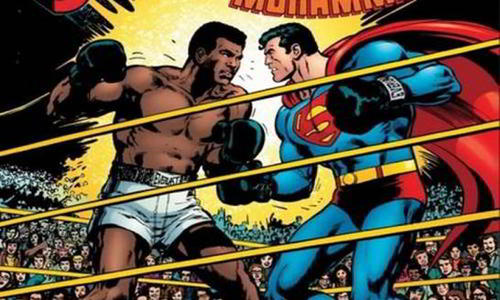 The Man of Steel vs Mohammad Ali