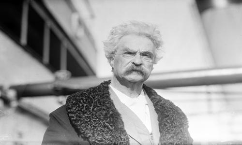 Mark Twain death prediction