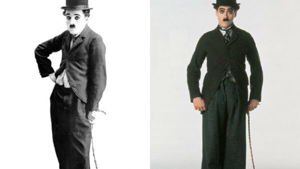 Robert Downey, Jr. as Charlie Chaplin
