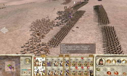 Rome: Total War real time strategy game