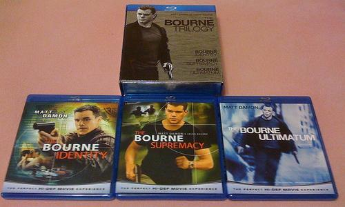 The Bourne Trilogy box Collection