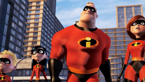 The Incredibles Awesome Animated Superhero Movie