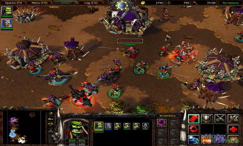 rts Warcraft III: Reign of Chaos screenshot