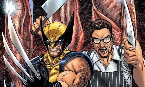 Wolverine meets chef Chris Cosentino