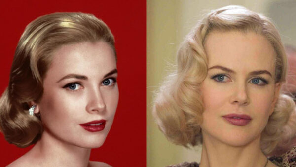 actress Nicole Kidman as Grace Kelly