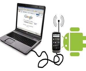 Implement Android Mobile Internet Tethering