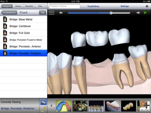 DDS GP iPhone dental app